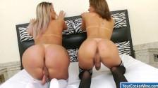 Juliana e Bianca juntas transando gostoso.